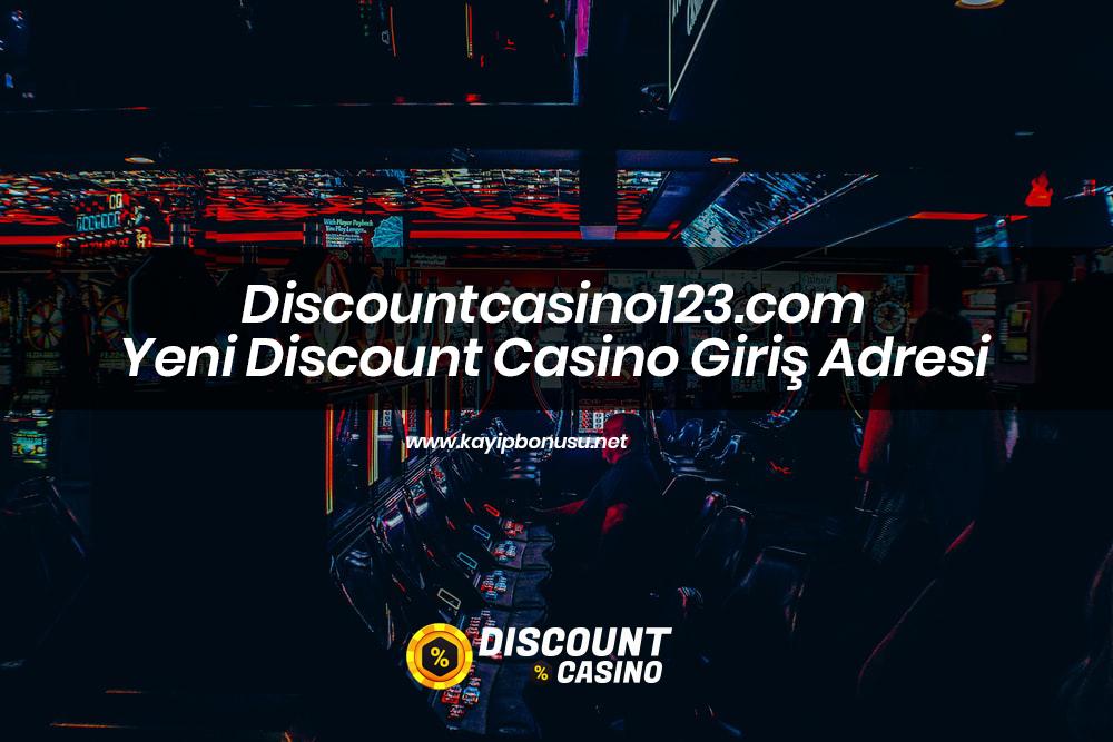 Discountcasino123.com Yeni Discount Casino Giriş Adresi