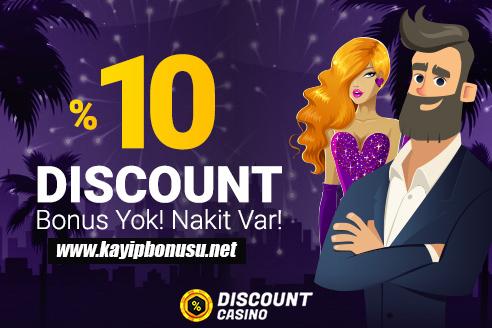 Discount Casino 1 Milyon TL Nakit İade